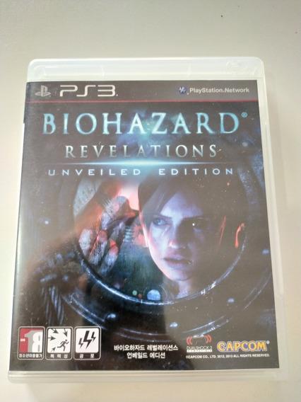 Biohazard Revelations Original Para Ps3 Mídia Fisica