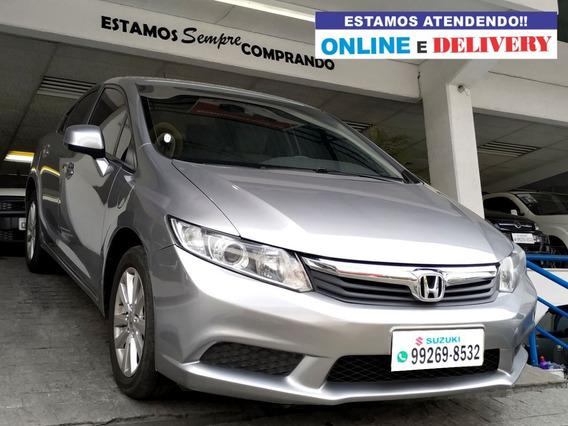 Honda Civic 1.8 Lxs 16v Flex 4p Automático 2014