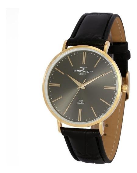 Relógio Becker Masculino - Original - 10805142m Pr