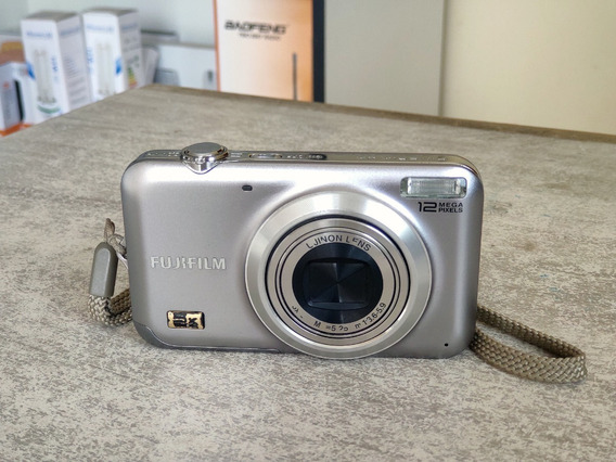 Câmera Digital Fujifilm 12mp 5x Cartão De Memória 2gb