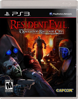 Juego Ps3 Resident Evil Operation Raccoon City - Refurbished