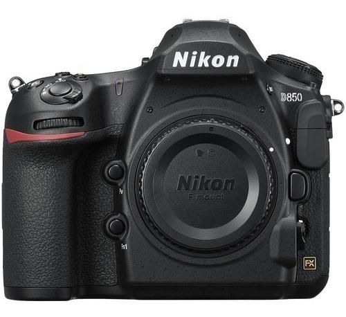 Câmera Nikon D850 4k Fx 45.7mp - C/ Nfe 2 Anos Garantia