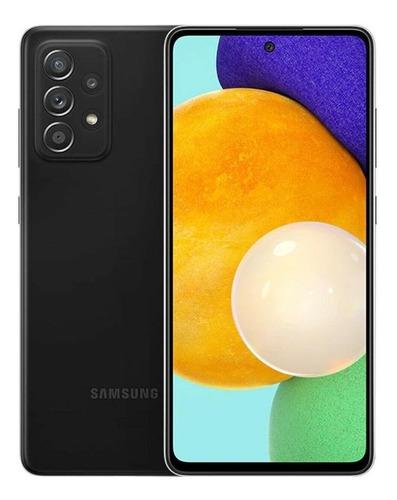 Celular Smartphone Samsung Galaxy A52 5g A526b 128gb Preto - Dual Chip