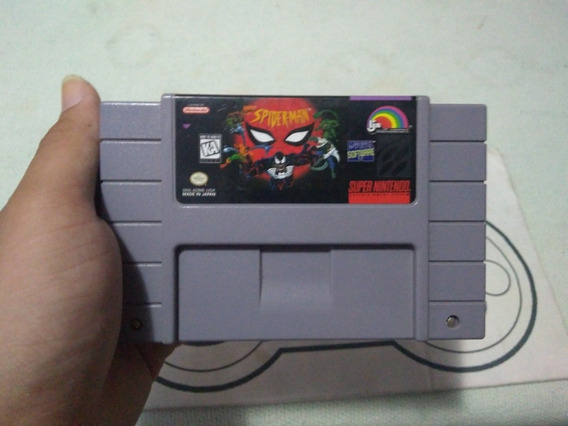 Super Nintendo - Spider Man 100%original