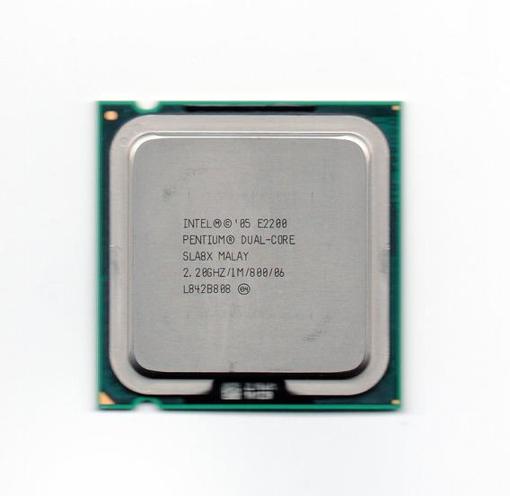 Processador Intel Dual Core E2200 2.20ghz Fsb 800 Lga 775