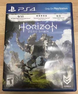Horizon Zero Dawn Ps4 Juego Fisico En Perfecto Estado