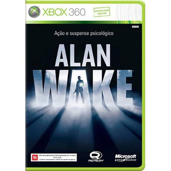 Jogo Alan Wake - Xbox 360 Original - Mídia Física