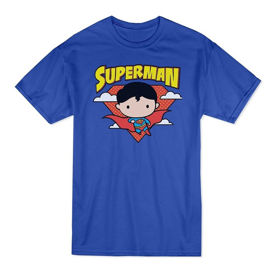 Xperma Playera Niño Superman Chibi