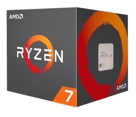 Processador Amd Ryzen 7 2700 Box (am4 / 3.2ghz / 4mb Cache)