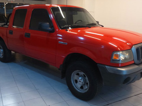 Ford Ranger 3.0 Power Stroke Xl 2007 Rojo