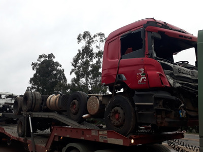 Sucata Scania P310 B8x2 2014 Somente P/ Retirada De Peças
