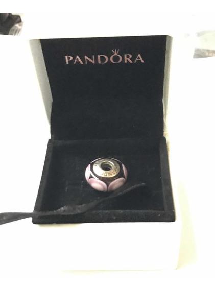 Dije Pandora 100% Original En Cristal Murano Y Plata .925