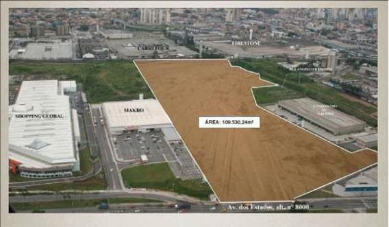 Terreno Em Parque Central, Santo André/sp De 10953024m² Para Locação R$ 280.000,00/mes - Te294820