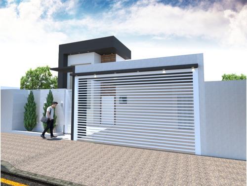Imagem 1 de 7 de Planta De Casa 3 Quartos - Projeto Completo+aprovação Ea-100