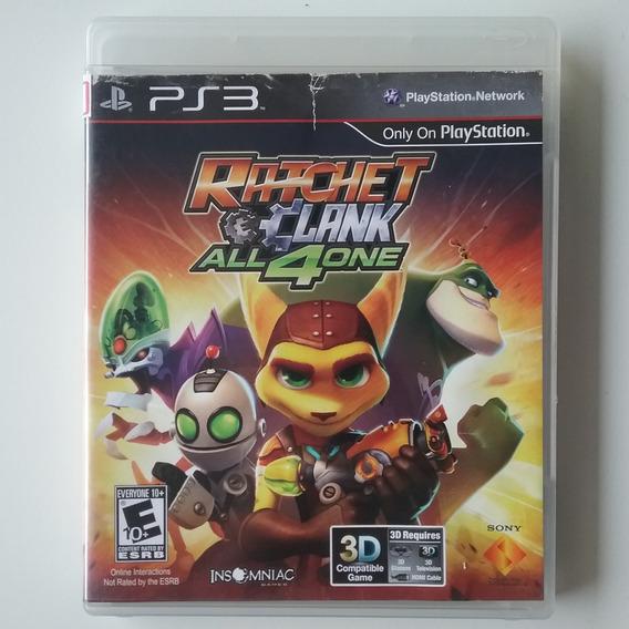 Ratchet And Clank All 4 One Ps3 Mídia Física Original Usado