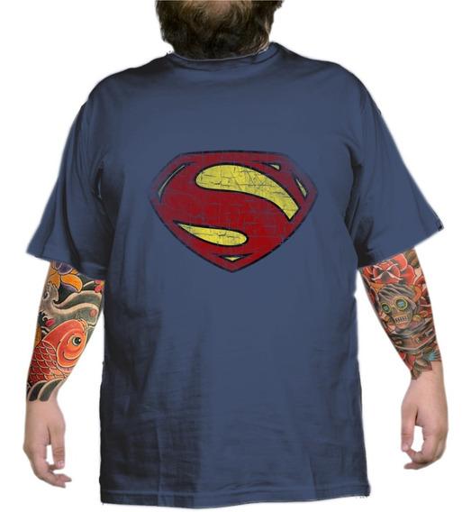 Super Man Dc Comics Nerd Geek Plus Size