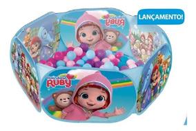 Piscina Bolinhas Rainbow Ruby 100 Bolinhas Zippy Toys