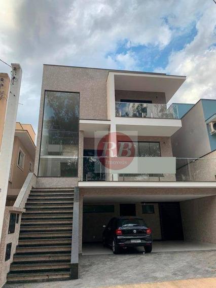 Casa Com 3 Dormitórios À Venda, 240 M² Por R$ 890.000 - Condomínio Villagio Milano - Sorocaba/sp - Ca0364