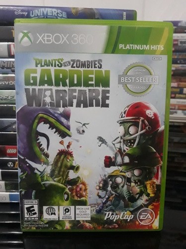 Plants Vs Zombies Garden Warfare Xbox 360 Mercado Livre