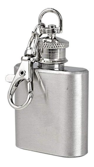 Petaca 1oz Acero Llavero Whisky Bebidas Blancas Microcentro