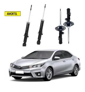 4 Amortecedor Toyota New Corolla Dianteiro/traseiro 15/18