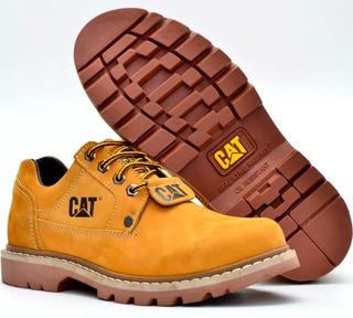 Bota Sapato Segurança Couro Caterpillar Masculino E Feminino