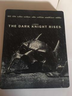 Bluray Batman The Dark Knight Rises Caja Metálica Edición