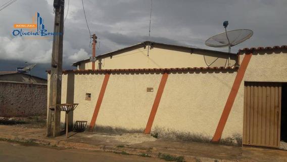 Casa Com 2 Dormitórios À Venda, 88 M² Por R$ 150.000 - Parque Residencial Das Flores - Anápolis/go - Ca1269
