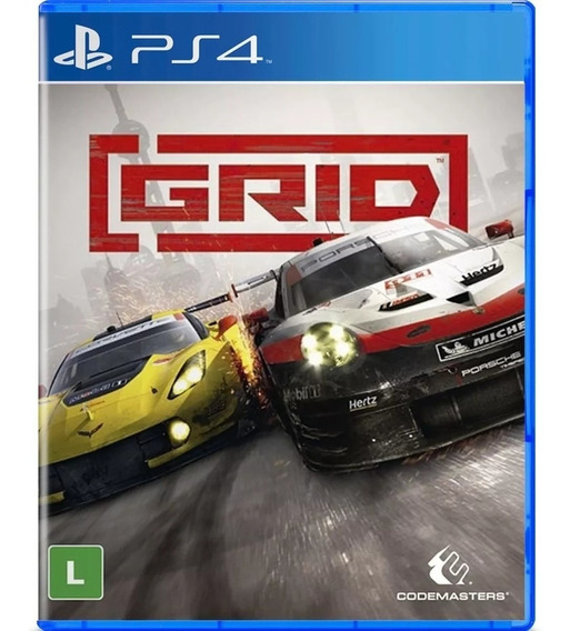 Grid Ps4 Lacrado A Pronta Entrega + Nf
