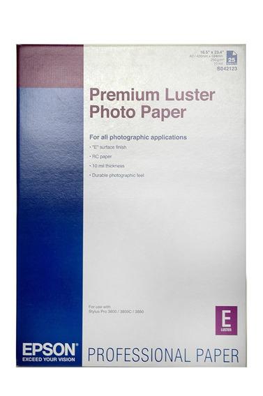 Epson Premium Luster 8x11 - 6 Folhas