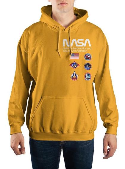 Sudadera Nuevos Modelos Temporada Logo Nasa Retro Espacio
