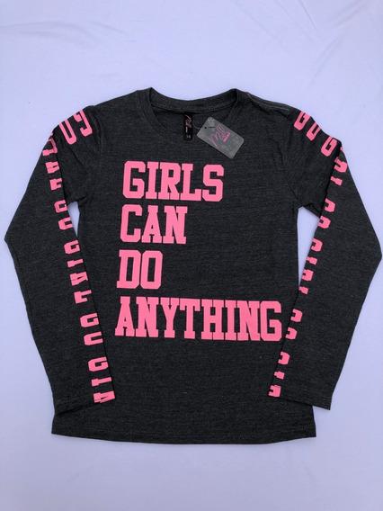 Camiseta Feminina Juvenil