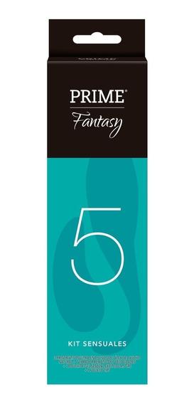 Prime Fantasy # 5 Vibrador Remoto 7 Velocidades Kit Sensual