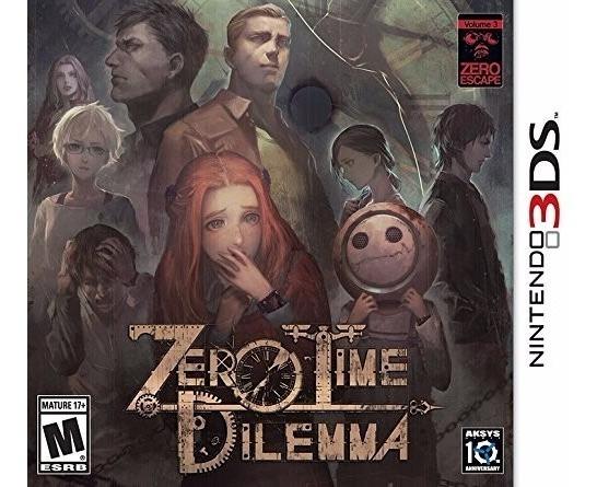 Zero Time Dilemma - 3ds - Pronta Entrega! Midia Fisica!