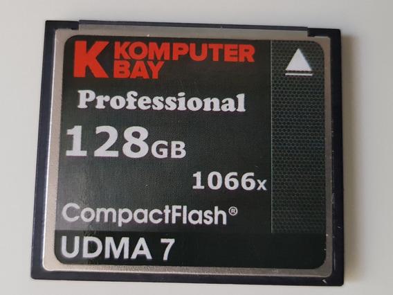 Cartão Cf Komputer Bay Professional 128gb 1066x Udma7