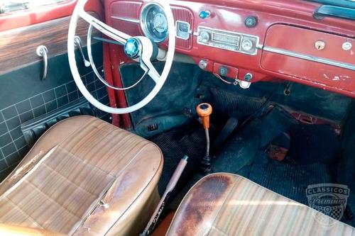 Imagem 1 de 9 de Volkswagen Fusca 1960 60 - Para Restauro - Antigo - Original