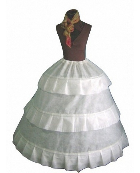 Enagua 3 Aros Para Vestidos, Novia, Quince, Religión