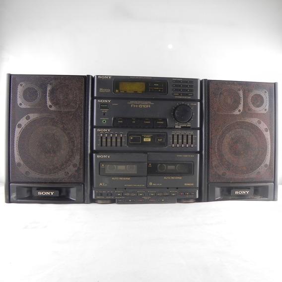 Aparelho De Som Antigo Sony Fh 616r - Usado C/ Defeito