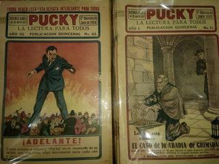 Antiguas Revistas Pucky 37 Números.- 1922/26