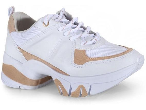 Tênis Feminino Chunky Sneaker Ramarim 20-80102 Branco