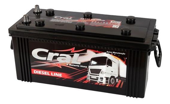 Bateria Automotiva 150 Amperes Cral