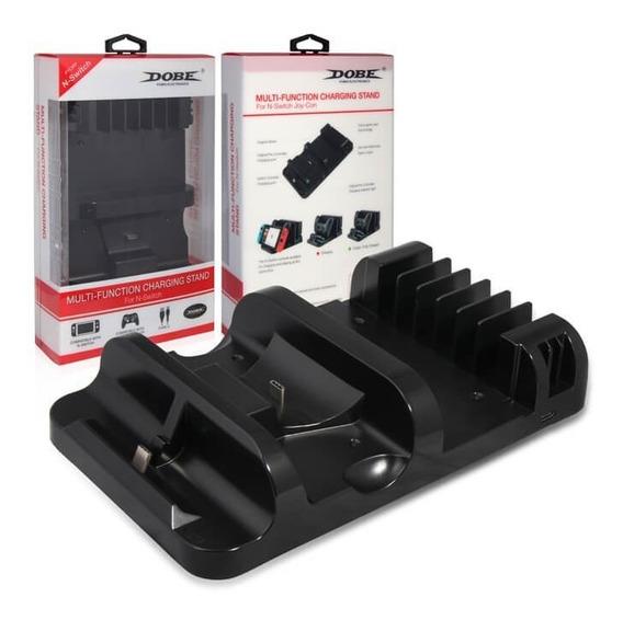 Multifuncional Stand E Carregador Para Nintendo Switch Dobe