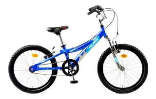 Bicicleta Infantil Olmo Reaktor Rodado 20 Nene Aluminio Azul