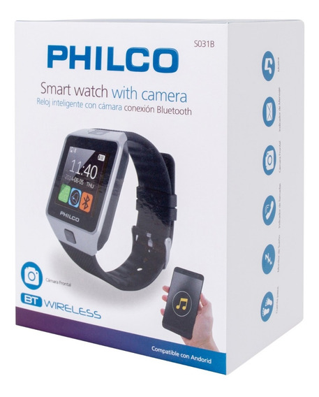 Reloj Smart Watch Bluetooth | Philco