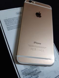 iPhone 6 Dourado 64 Gb Novo + Acessórios Extras