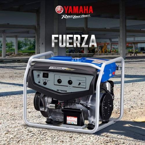 Grupo Electrogeno Yamaha Original  Ef 7200e. Agencia Oficial