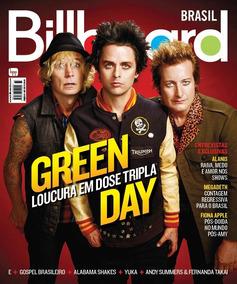 Revista Billboard Brasil Green Day Semi Novo Ver Descrição