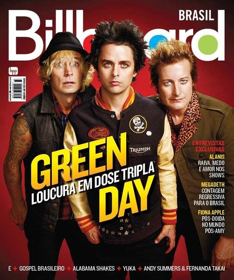 Revista Billboard Brasil Green Day Semi Nova Ver Descrição