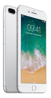 iPhone 7 Plus 32gb Prata Tela Retina Hd 5,5 3d - Apple