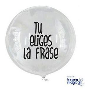Globo Burbuja Desde $0,75 Por Mayor 18 (40-43 Cm)